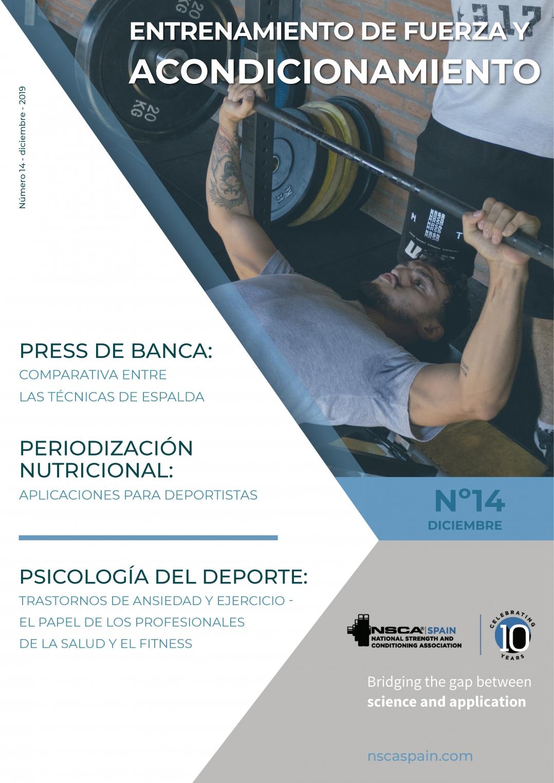 Nº 14 Journal NSCA Spain: Entrenamiento de fuerza y acondicionamiento físico - Diciembre 2019