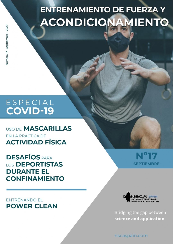 Nº 17 Journal NSCA Spain: Entrenamiento de fuerza y acondicionamiento físico - Septiembre 2020