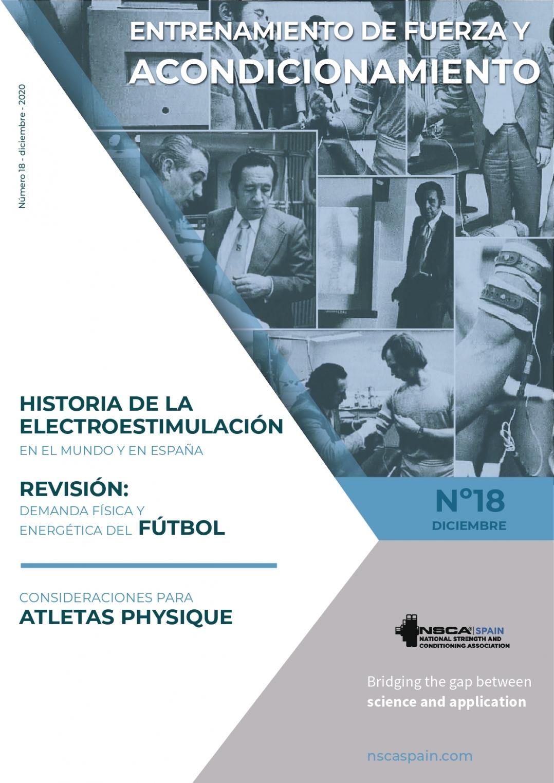 Nº 18 Journal NSCA Spain: Entrenamiento de fuerza y acondicionamiento físico - Diciembre 2020